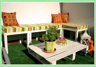Bancos de terraza Caf Pinterest