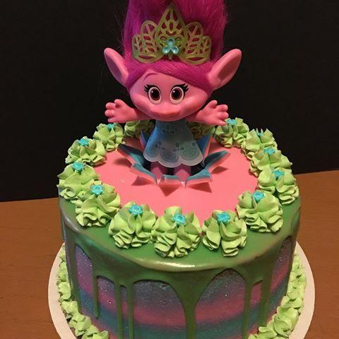 troll cake Troll Cake #poppy #troll #trolls #trollscake ...