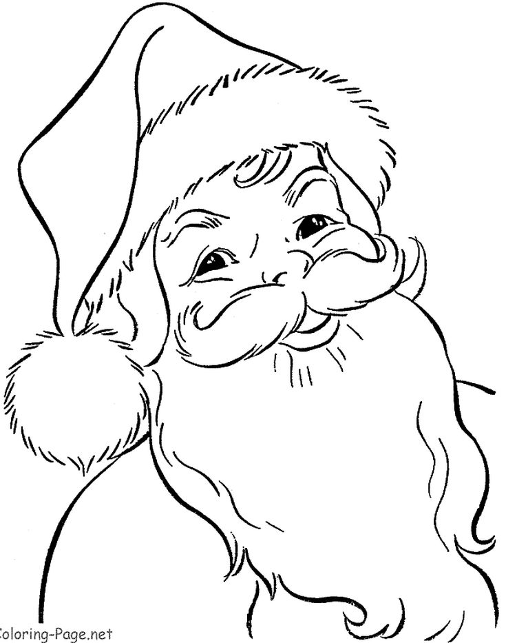 Print Free Santa Claus Coloring Pages This Christmas Santa Coloring Pages Coloring Pictures For Kids Coloring Pages