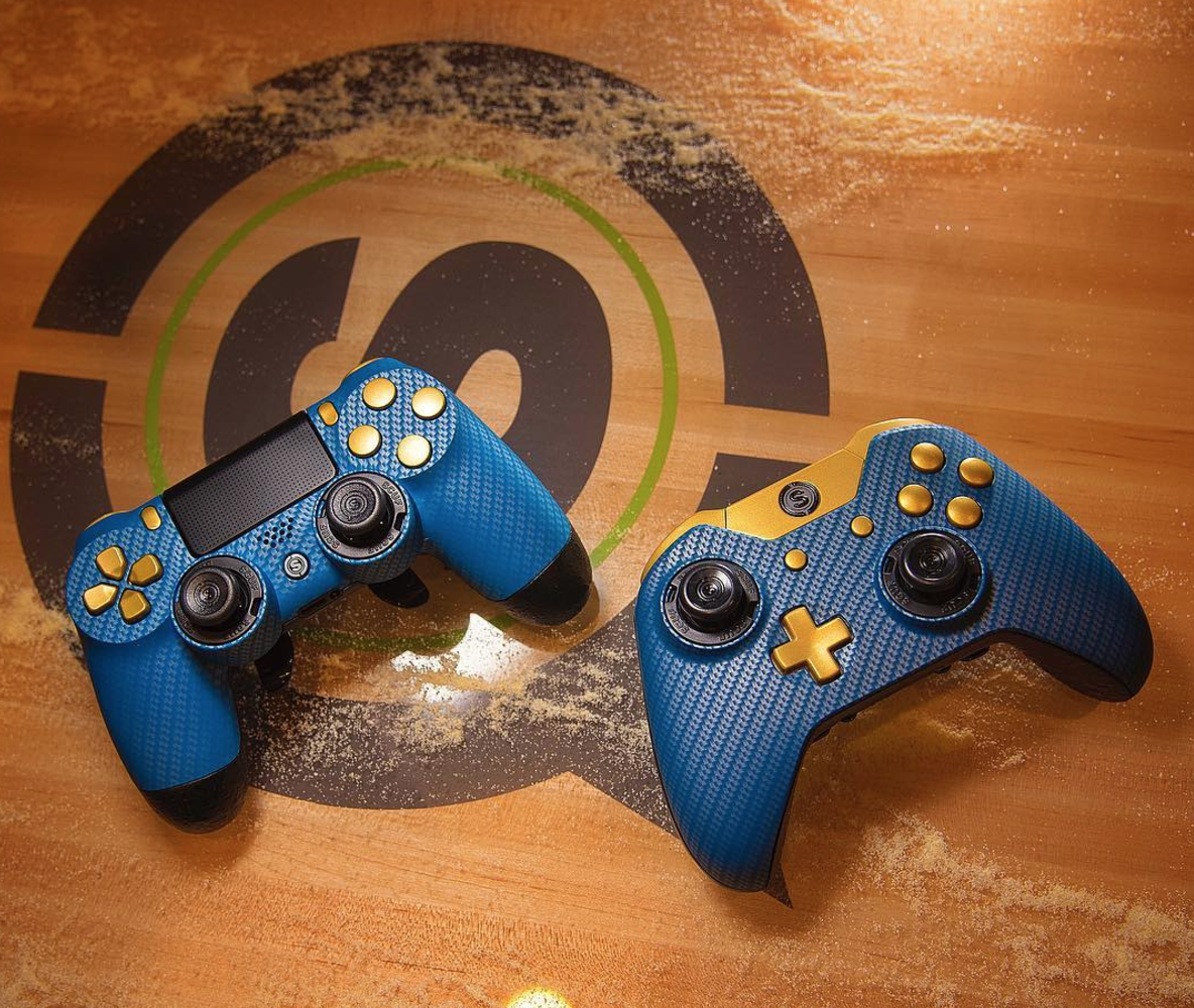 scuf infinity carbon fiber series custom controllers for playstation rh pinterest com