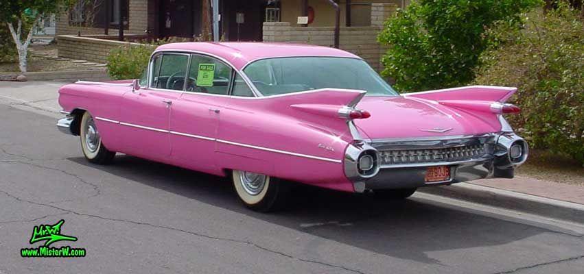 pink 59 cadillac eldorado dream rides cadillac 1959 cadillac rh pinterest com