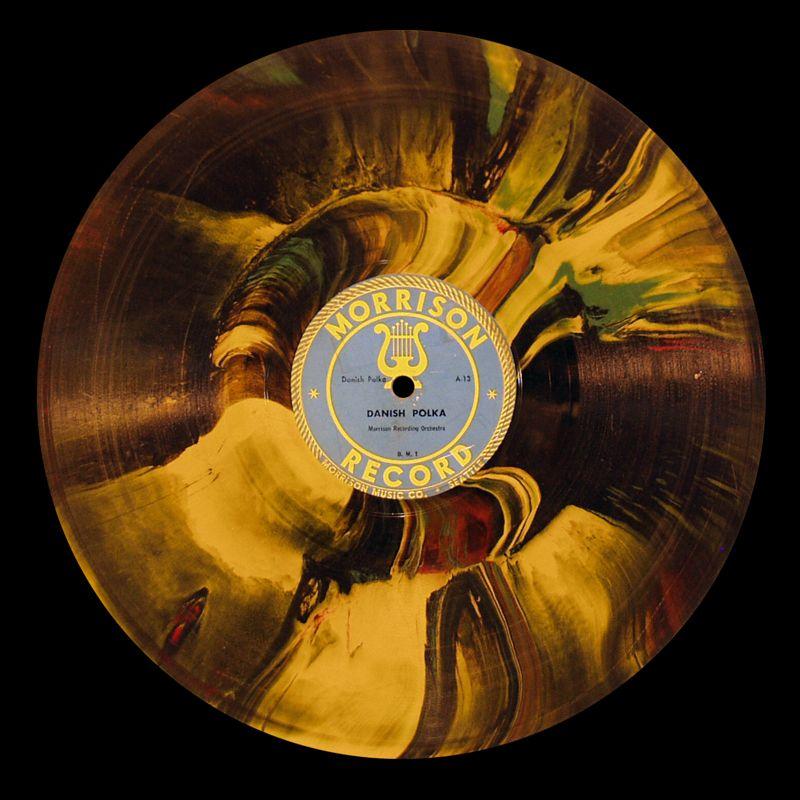 Morrison Records Multi Colored 10 Inch Vinyl Vinyl Artwork Music Artwork Vinyl