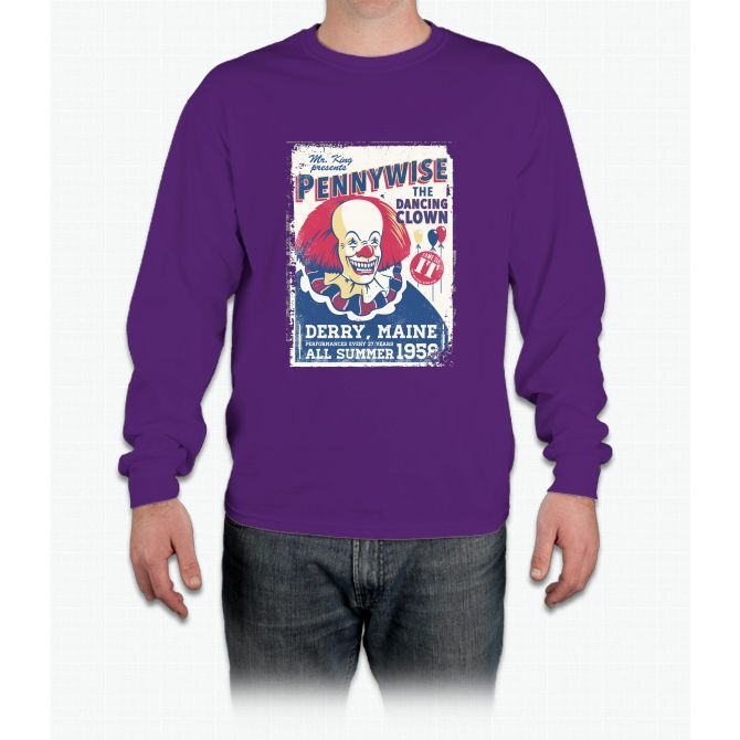 The Dancing Clown Long Sleeve T-Shirt