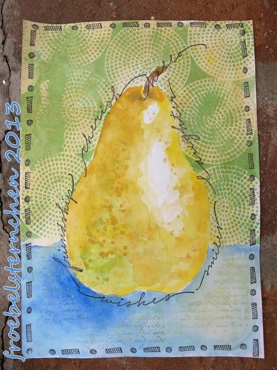 Art Journal Journey - September