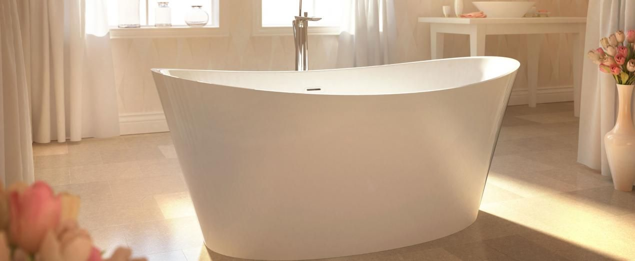 Bainultra Evanescence 6636 Two Person Freestanding Air Jet Bathtub For Your Master Bathroom