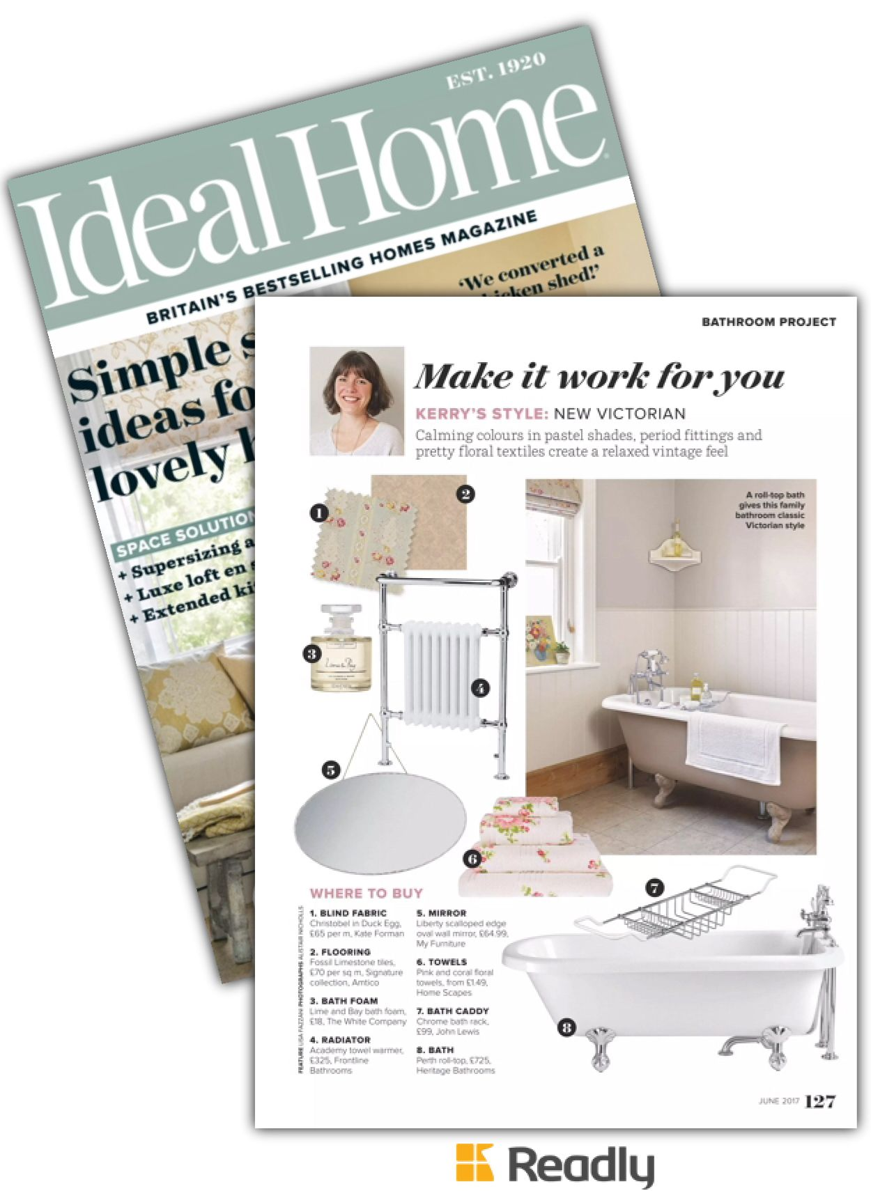 Suggestion about Ideal Home Jun 2017 page 127   Master bedroom ...