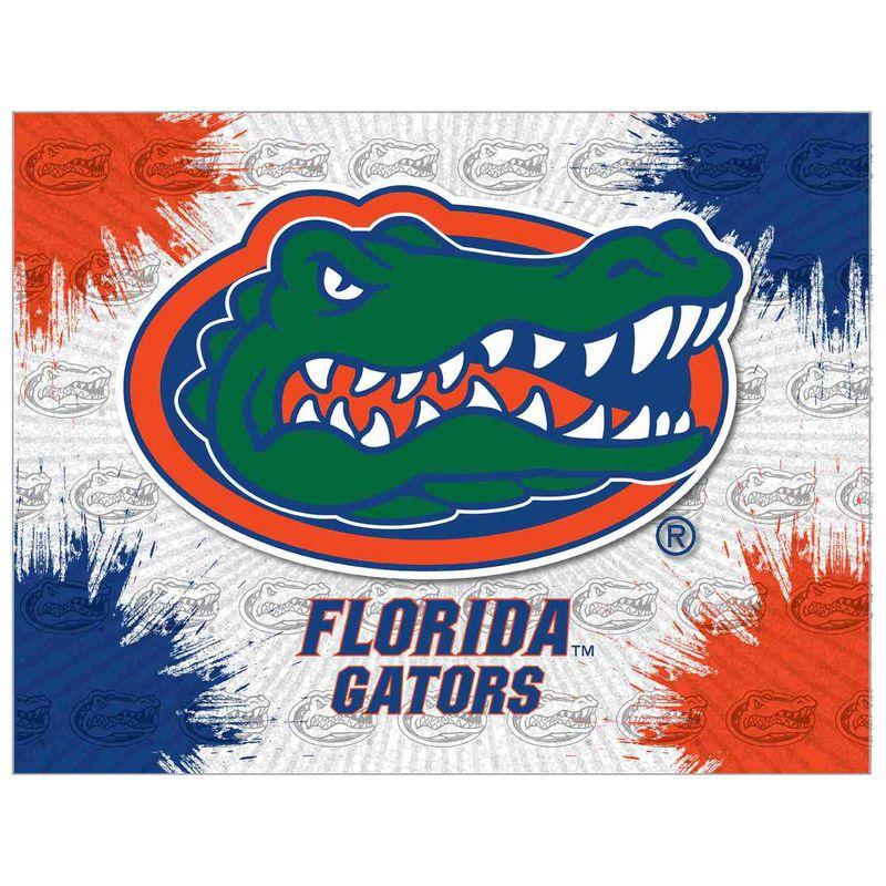 Florida Gators 15 X 20 Printed Canvas Art Florida Gators Logo Florida Gators Wallpaper Florida Gators Football Wallpaper