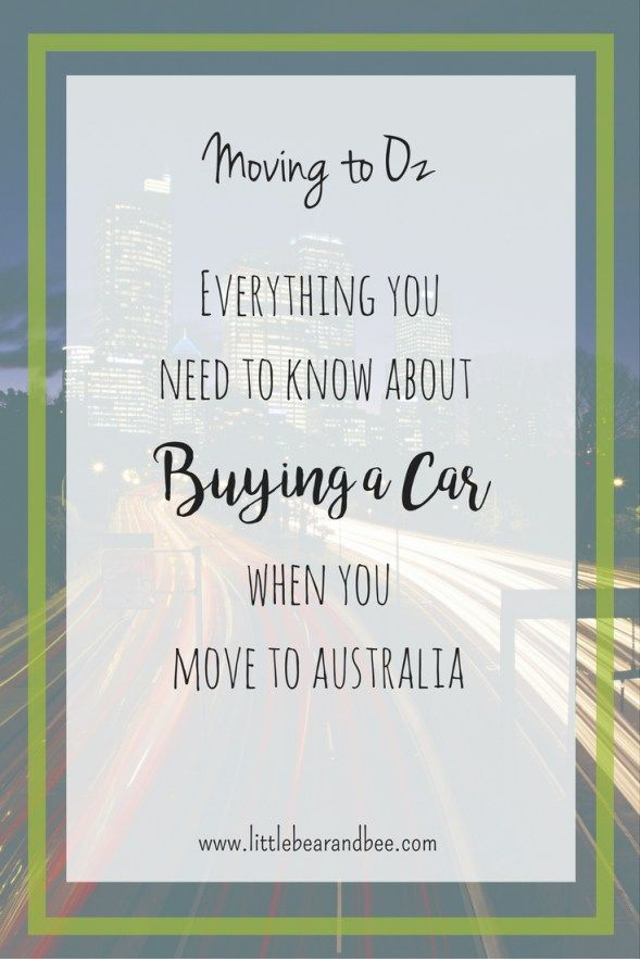 How To Buy A Car In Australia Including Transferring The