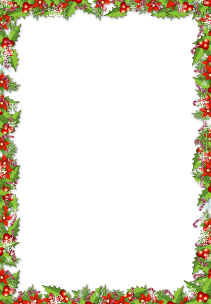 Christmas Png Frame With Mistletoes Christmas Lettering Christmas Boarders Free Christmas Borders