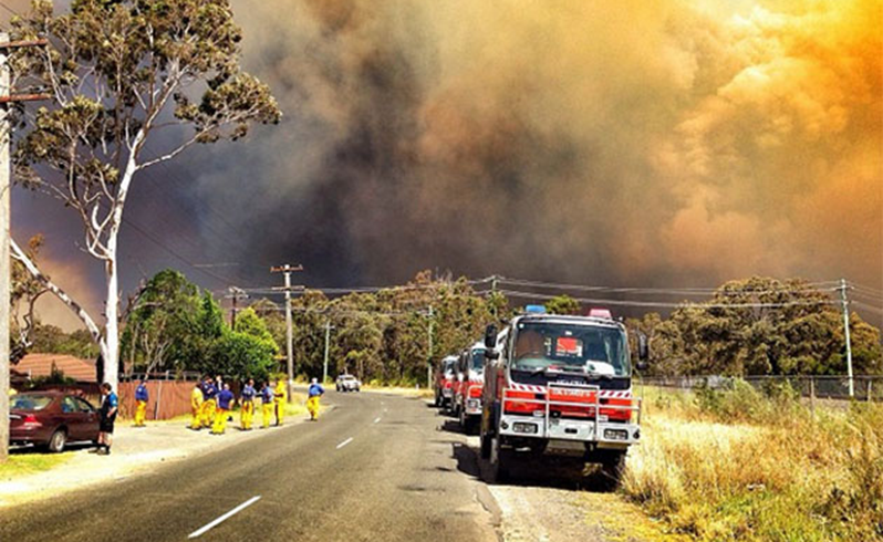 More horrific bushfires here in Australia 2013 Australia
