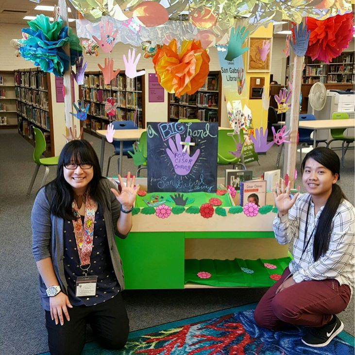 Last Week San Gabriel Library Celebrated The Life Of Cesar Chavez And Helped The Students Rebuild Youth Uplift Challe Helping Kids Family Foundations Instagram