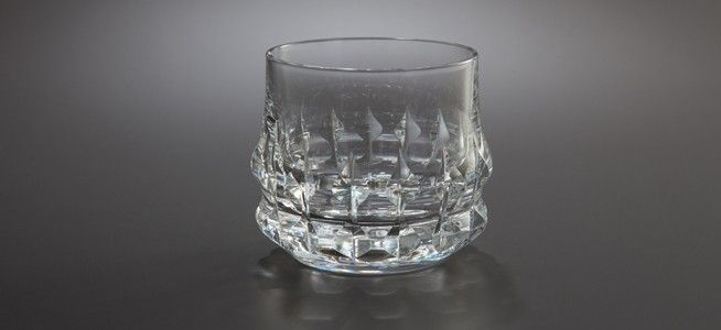 Rosenthal Holdfast Old Fashioned Crystal Glass Set Of 2