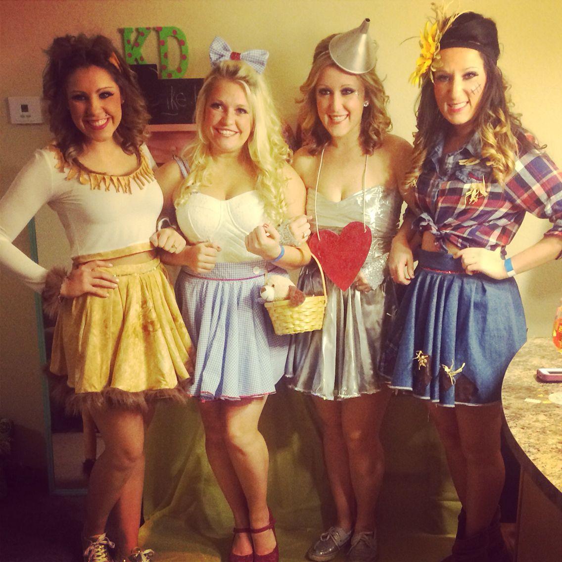 Four seasons halloween costume. Four girl costume. Halloween ...
