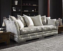 Crushed Velvet Sofa In Living Room Google Search