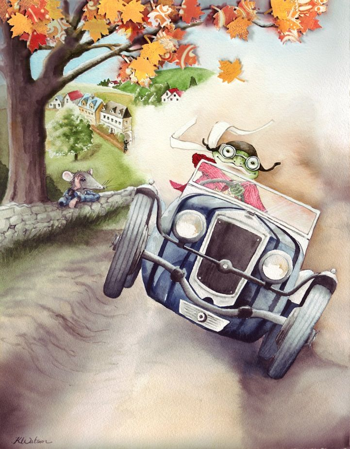 The Wind in the Willows~Karen Watson