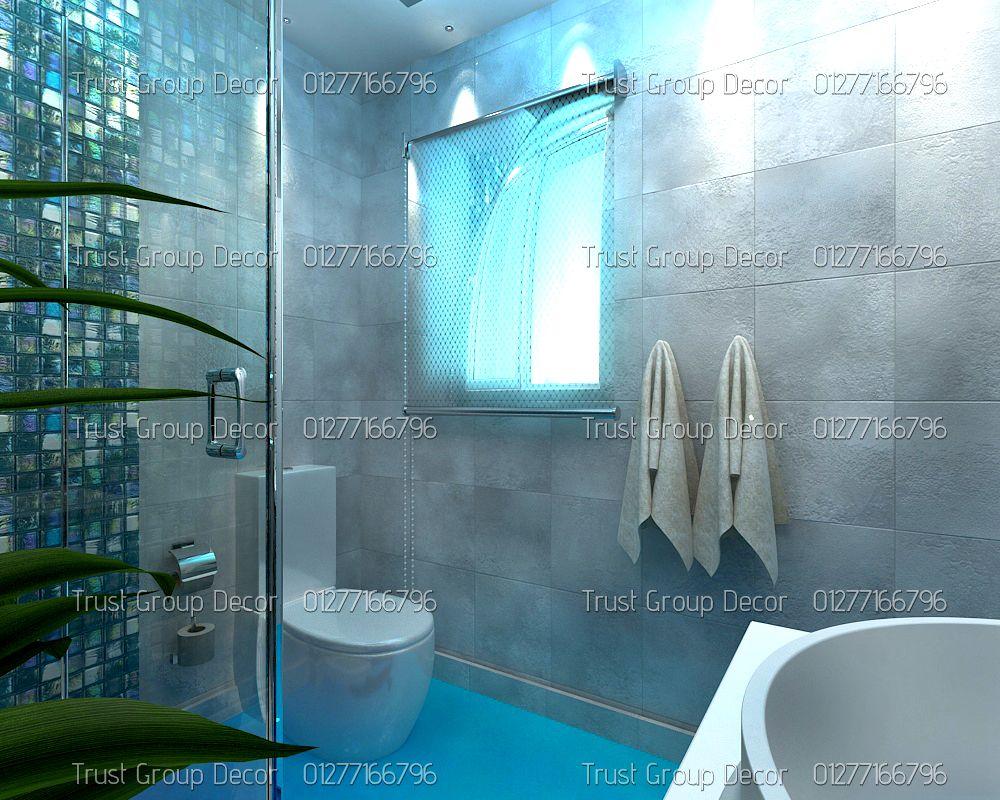 شركة ديكور فى مدينة نصر Lighted Bathroom Mirror Bathroom Lighting Bathroom Mirror