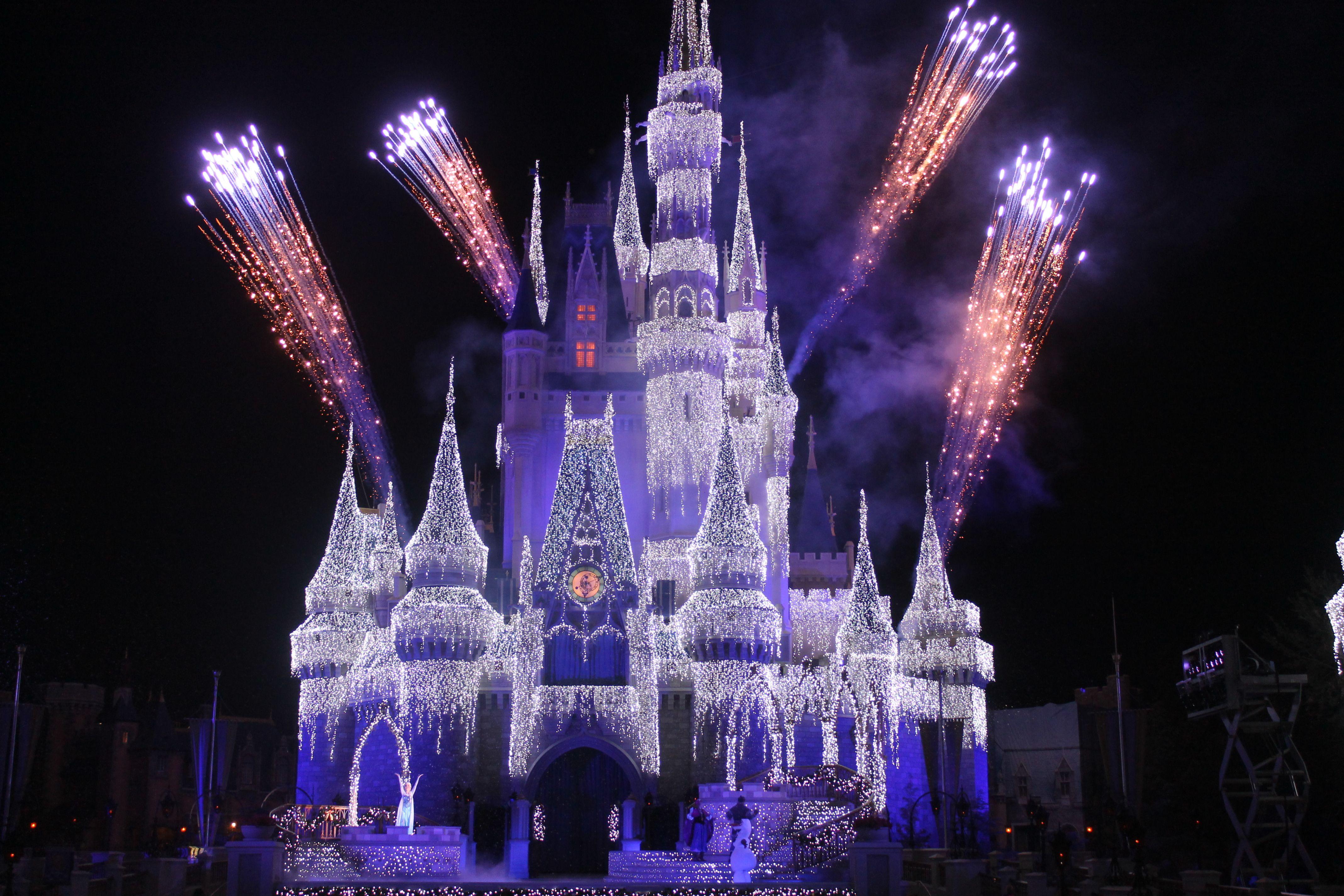 Frozen Christmas Wish at the Magic Kingdom Walt Disney World