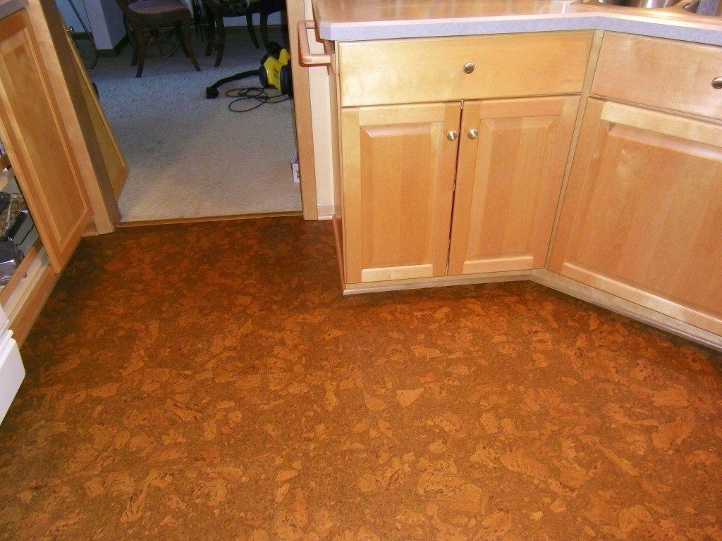 Temporary Cork Floor Tiles