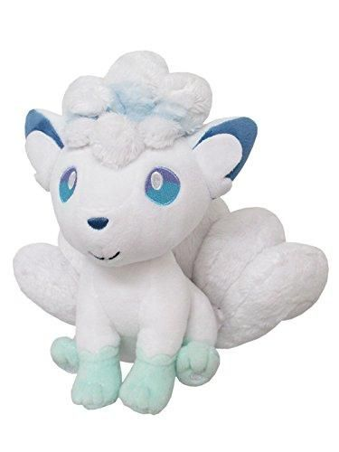 Sanei Pokemon All Star Stuffed Alolan Vulpix Plush Dolls, 7 ...