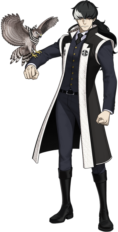 Simon Blackquill   Anime suit, Character modeling, Phoenix wright