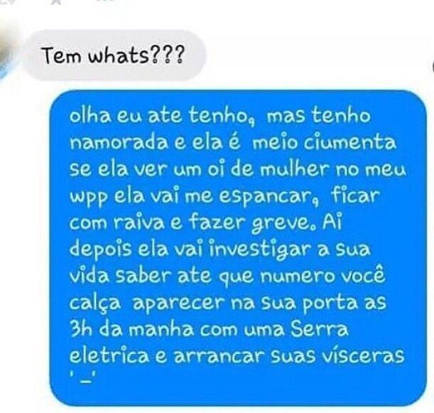 WhatsApp Namorada