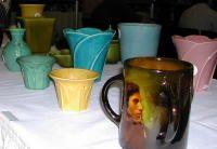 Rookwood Portrait Mug Kenton Hills Pottery Art Pottery Spring Art