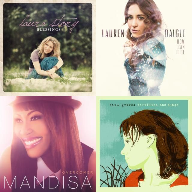 Female contemporary christian songs
