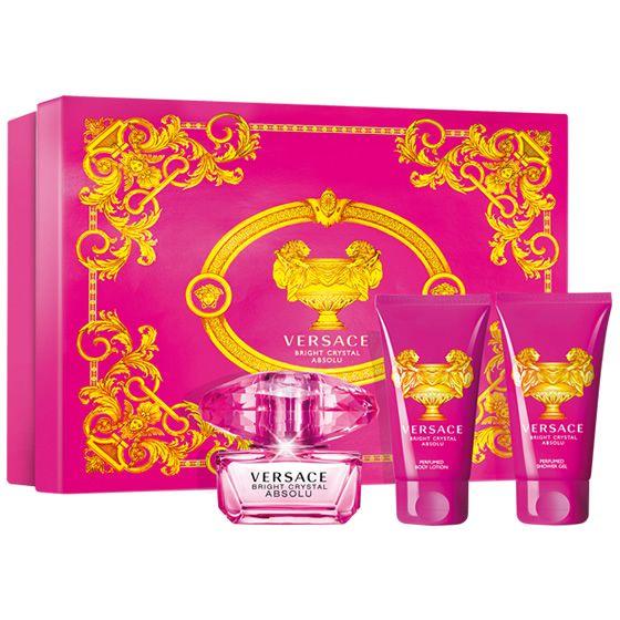 Absolu Bright Eau 50ml Set Gift Crystal De Parfum Versace jAc45Rq3L