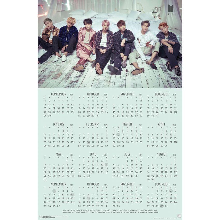 Calendrier Bts 2022 BTS   Shop by Brand | Bts calendar, Foto bts, Calendar