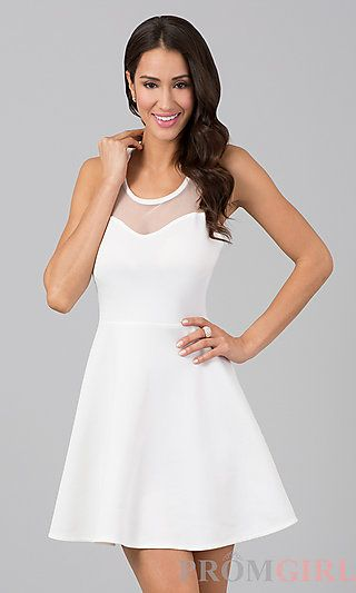 white dress with bow on back super cute and classy! | Freaking cute ...
