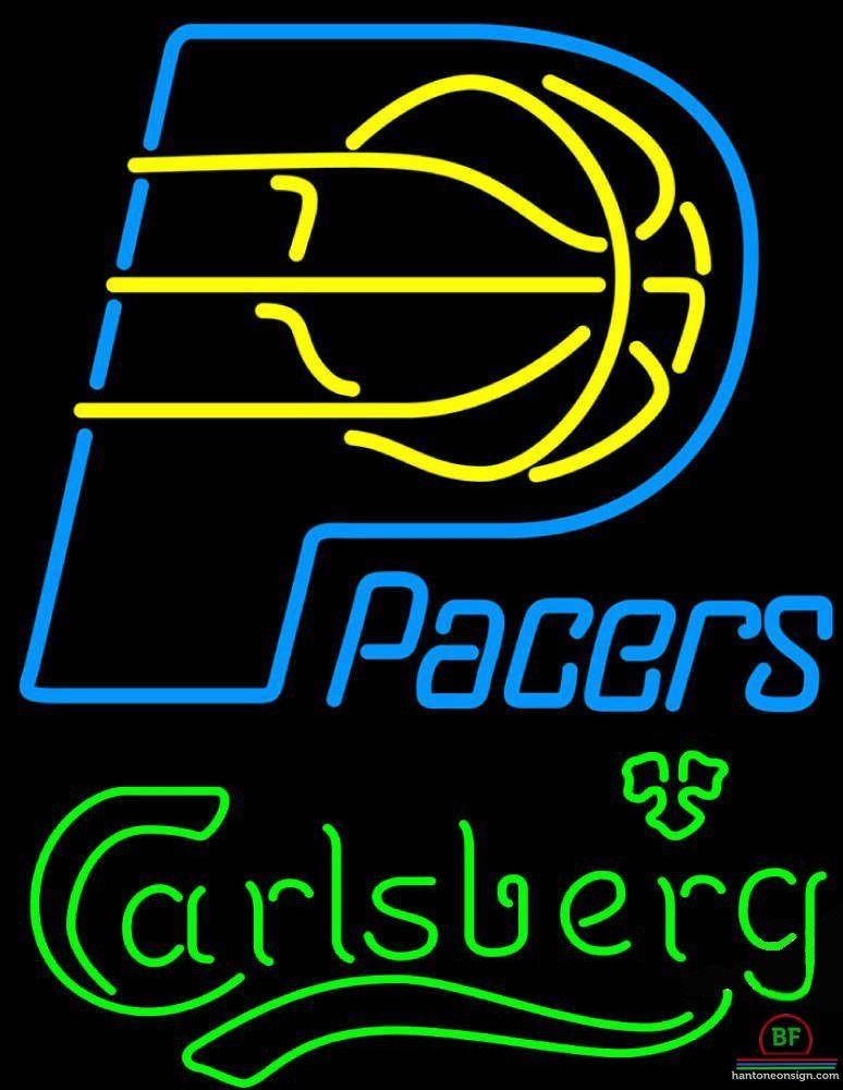 Carlsberg Indiana Pacers Neon Sign NBA Teams Neon Light