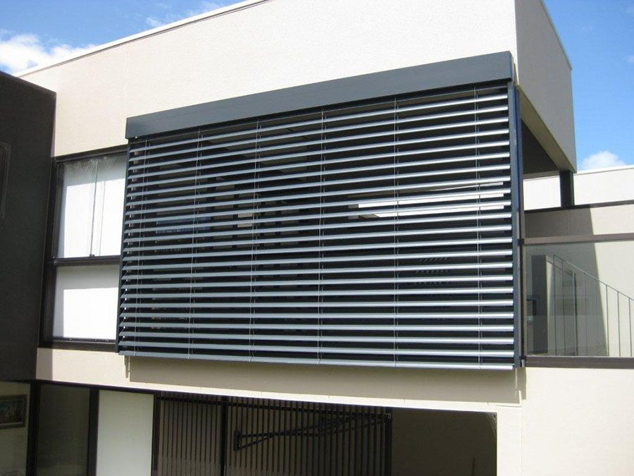External Aluminium Blinds For Reflecting Solar Heat Amp Turn