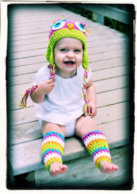 Watermelon Hat with matching Leggings!