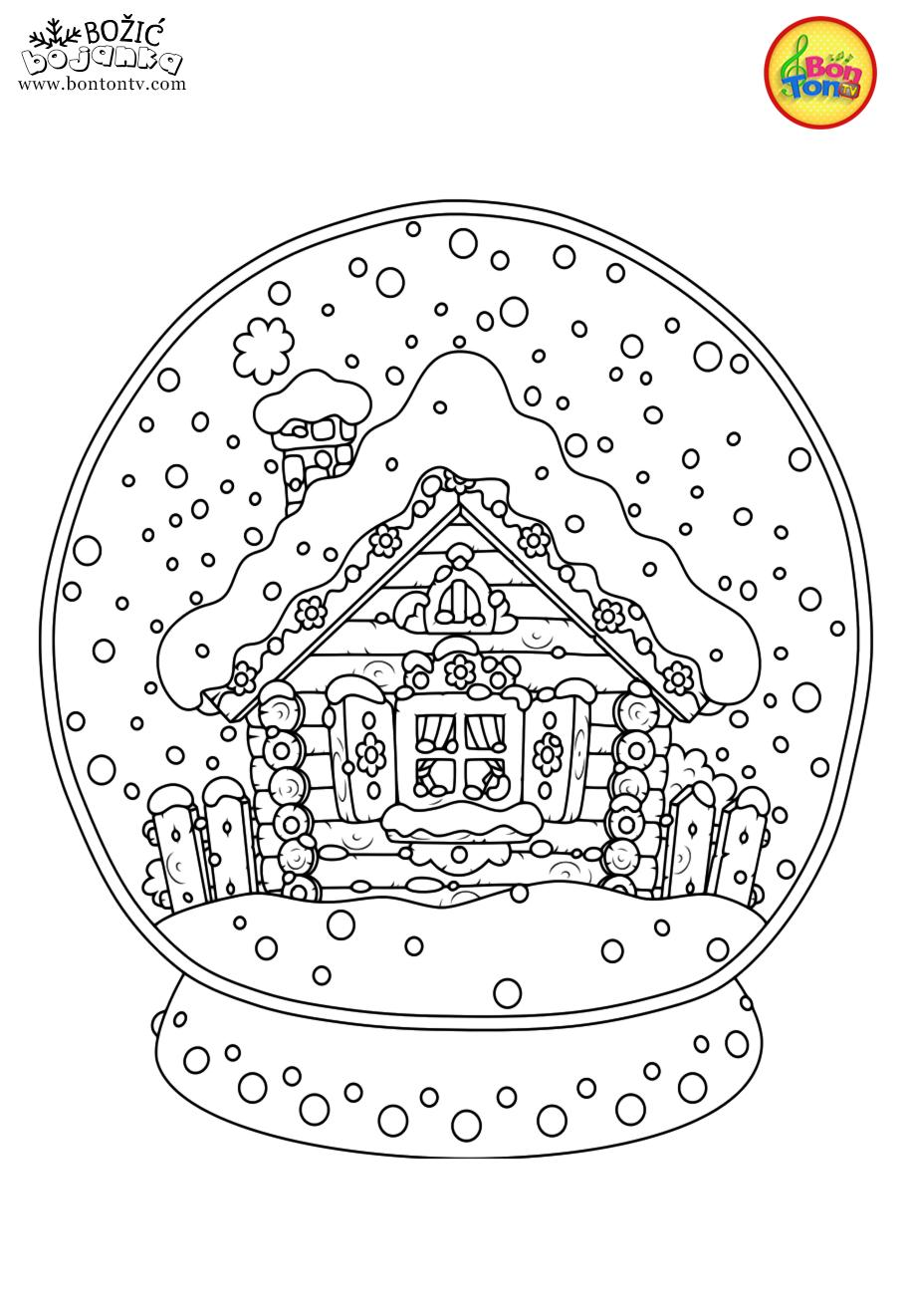 Christmas Coloring Pages - Božić bojanke za djecu - Free ...
