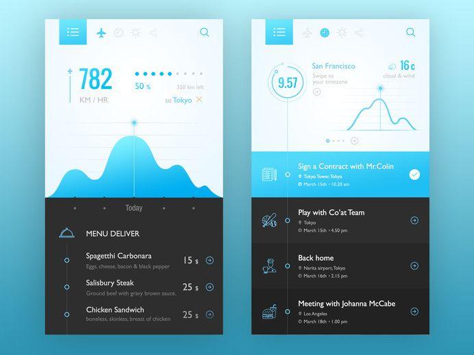 Mobile Calendar Inspiration - UI Garage - The database of UI