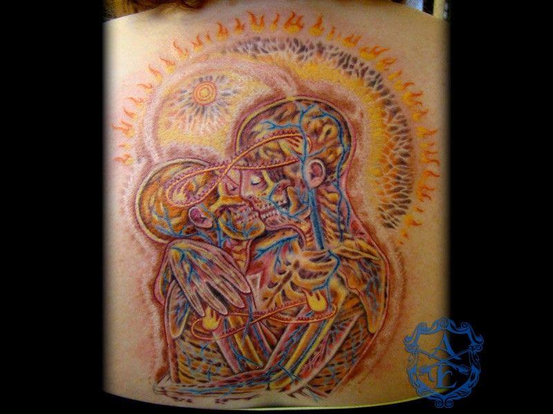 alex grey tattoos Arrows and Embers Custom Tattooing