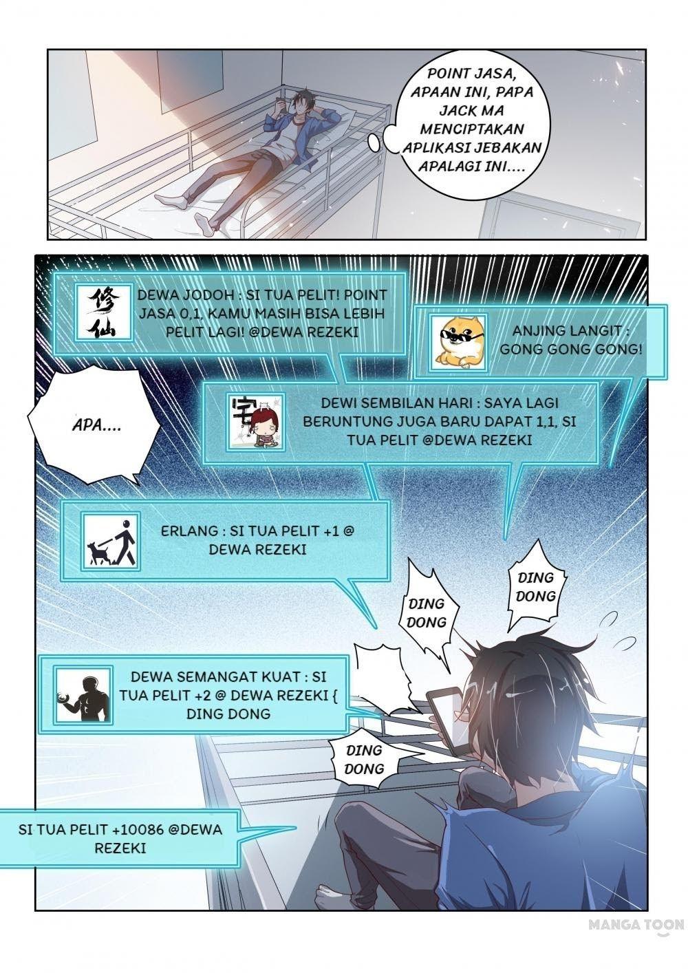 My Amazing Wechat Chapter 1 Bahasa Indonesia Klikmanga Bahasa Indonesia Anjing Komik