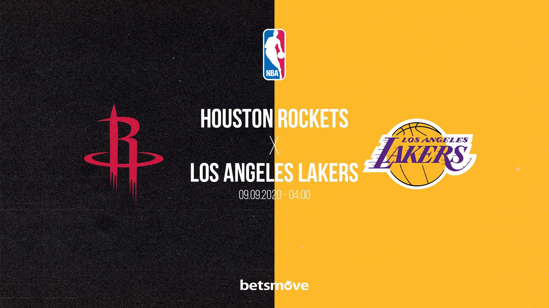 Houston Rockets Los Angeles Lakers Canli Izle 2020 Mac