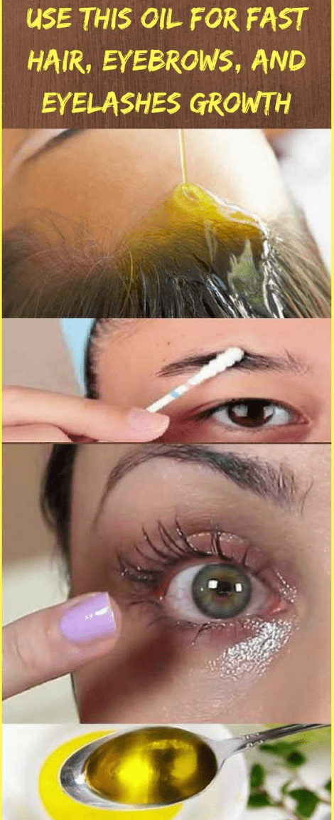 how to grow eyebrows and eyelashes fast