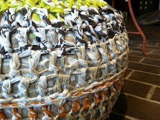 knotted pouf at pepperberry's