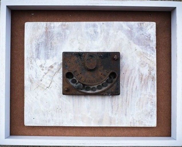 """""""Unknown"""" Duchamp from Rose Fried Gallery show Ouvres de Art - photo I. (Maybe a repair or reproduction)"""