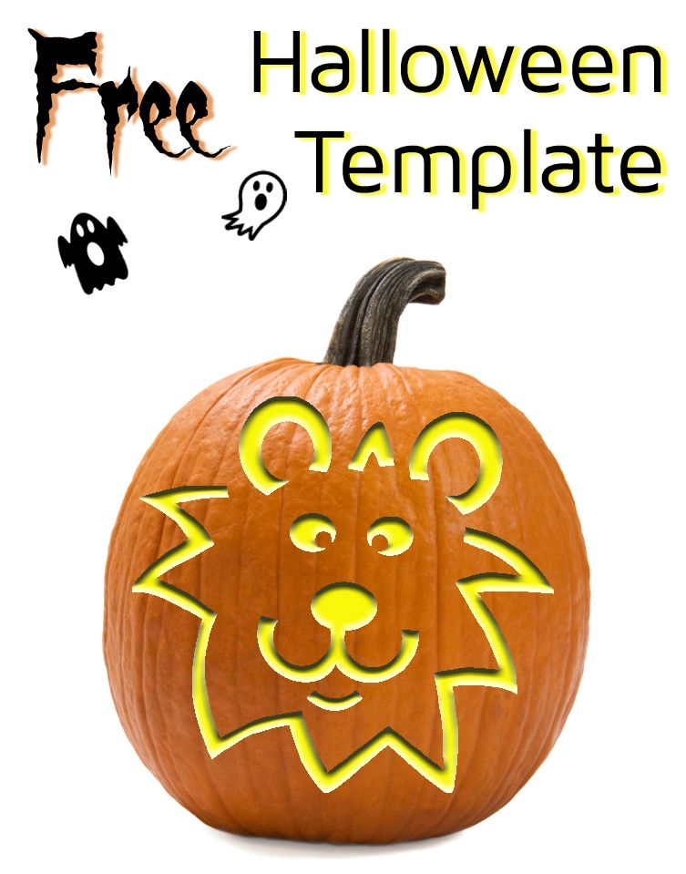 easy lion template for carving diy printable templates available