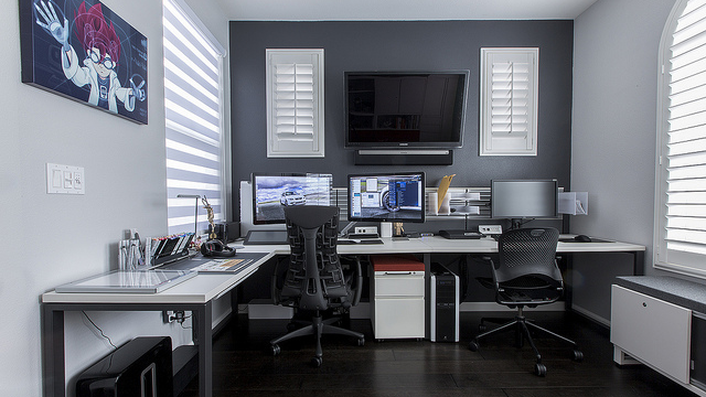 Lifehacker On Home Office Design Home Office Workspace
