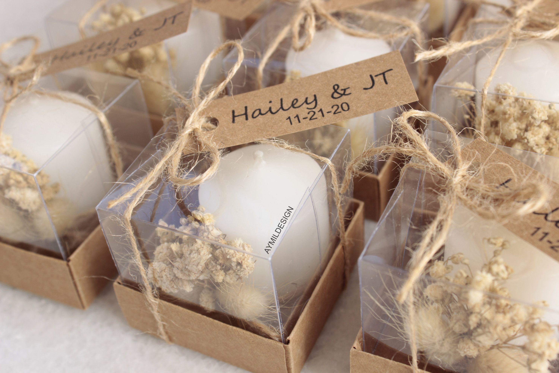 Rustic Wedding Favors For Guests Bulk Wedding Candle Favors Etsy In 2020 Candle Wedding Favors Wedding Favors Wedding Favors For Guests