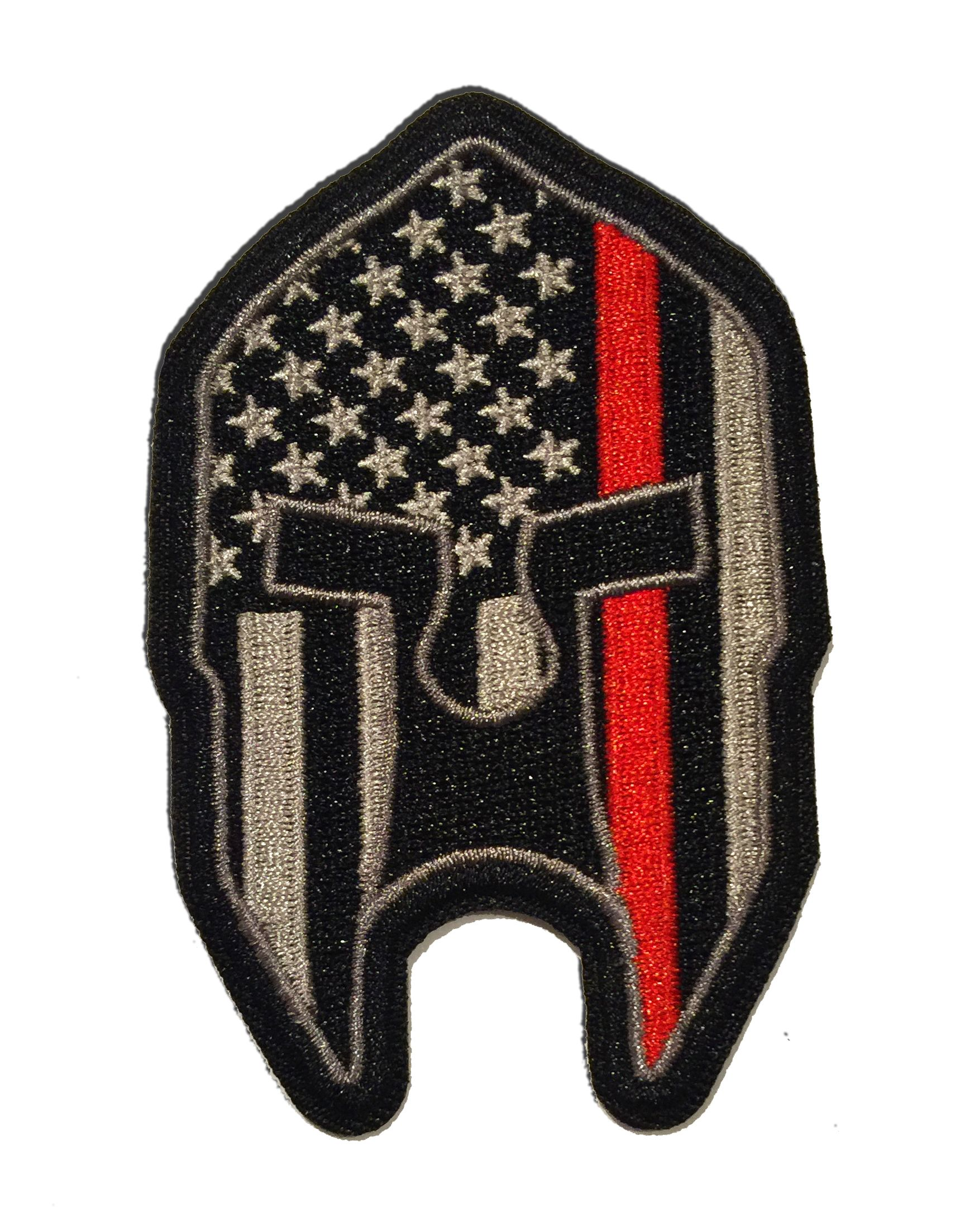 USA FLAG MARINE CORPS USMC  TACTICAL MORALE HOOK PATCH red//wht BY MILTACUSA