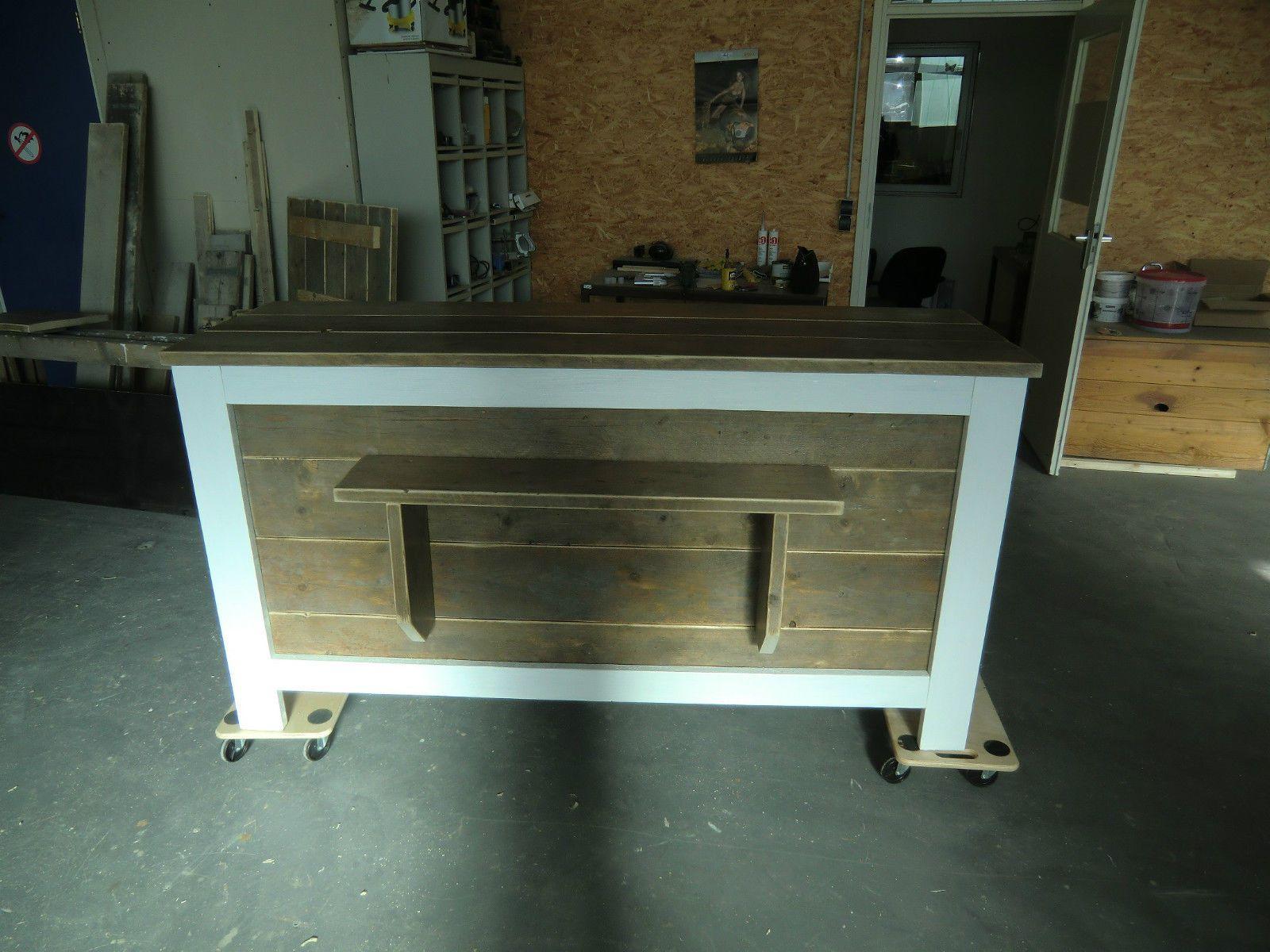 Details zu Theke Tresen Ladenbau Bauholz Möbel Verkaufstheke ...