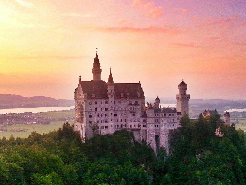 Schloss Neuschwanstein Neuschwanstein Castle Hohenschwangau Germany Schloss Neuschwanstein Schwanstein Neuschwanstein