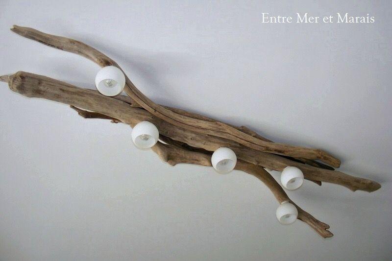plafonnier en bois flott id al pour plafond bas. Black Bedroom Furniture Sets. Home Design Ideas