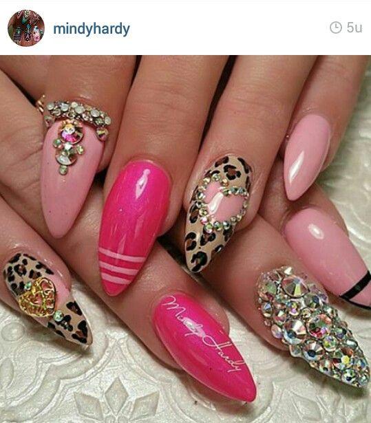Mindy Hardy | Nail Faves | Pinterest | Uñas picudas, Arte de cuerdas ...