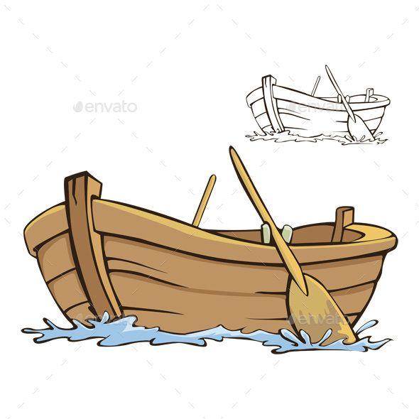 Boat Boat Illustration Boat Cartoon Boat Icon